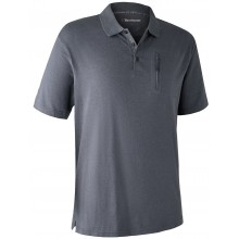 Polo gris larch Deerhunter