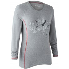 T-shirt gris clair lady hazel Deerhunter