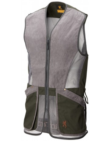 Gilet pro sport gris Browning