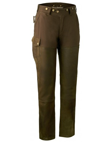Pantalon lady Paris en cuir Deerhunter