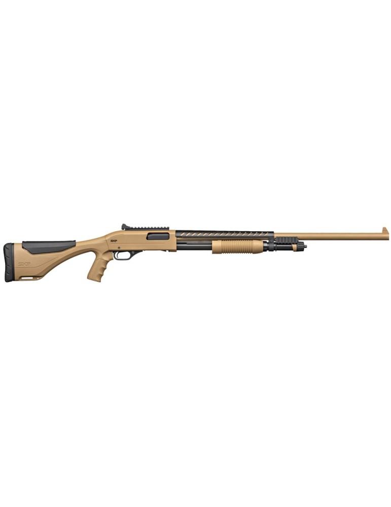 Winchester SXP xtrem dark earth defender rifled C.12/76