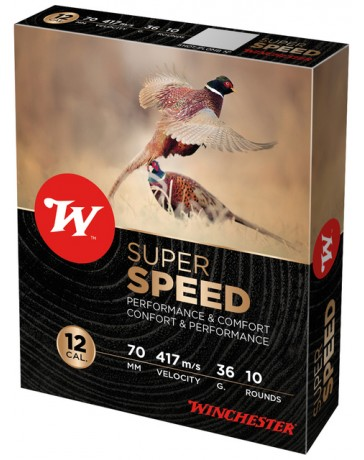 Winchester Super Speed C.12/70 36g cartouches chasse