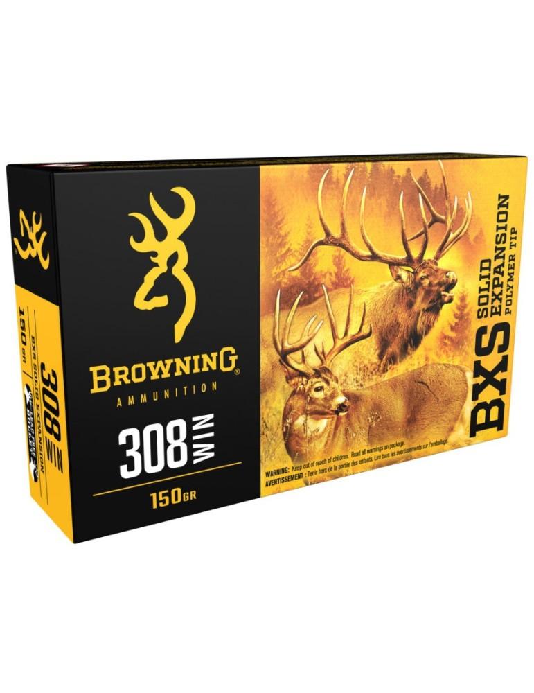 Browning BXS 7 mm Rem. Mag. 139 gr sans plomb