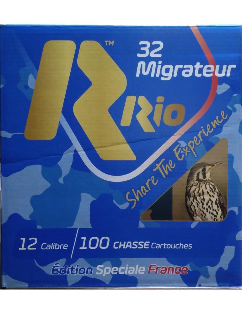 Rio 32 Migrateur C.12/70 32g pack de 100 cartouches