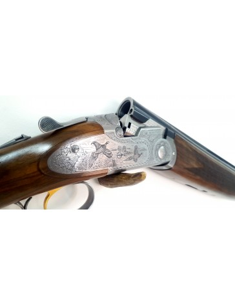 Beretta 687 EELL scène de chasse cal 12/76 canon 71 cm