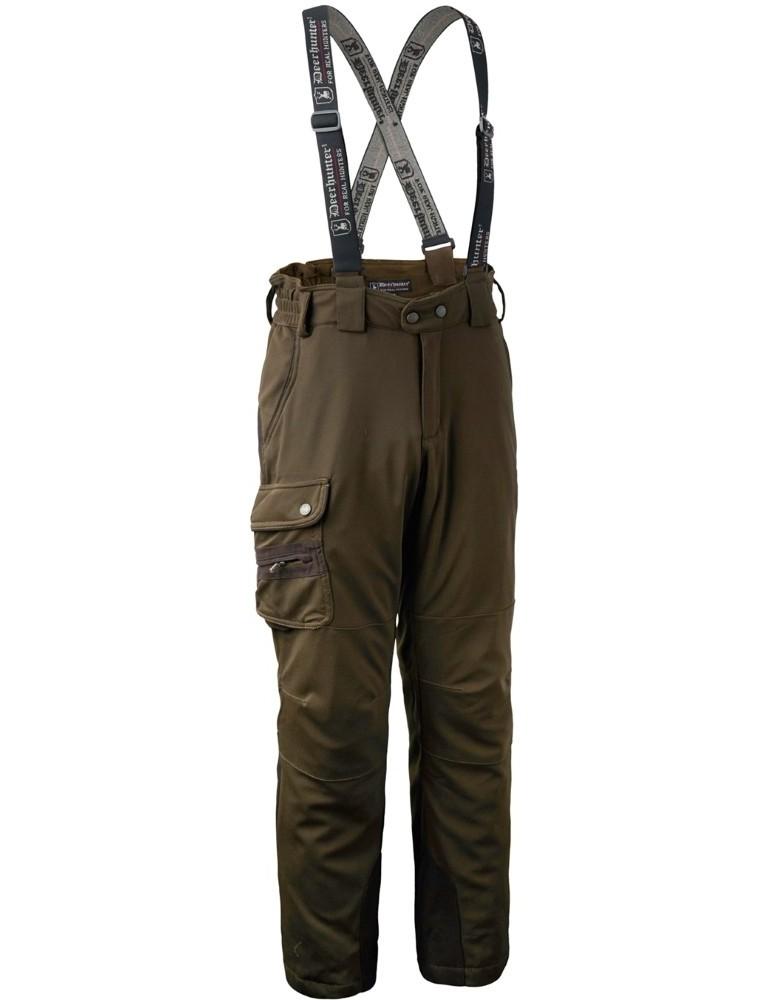 Pantalon kaki de chasse Muflon Deerhunter
