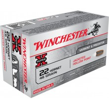 Winchester .22 Hornet Hollow Point 46 gr