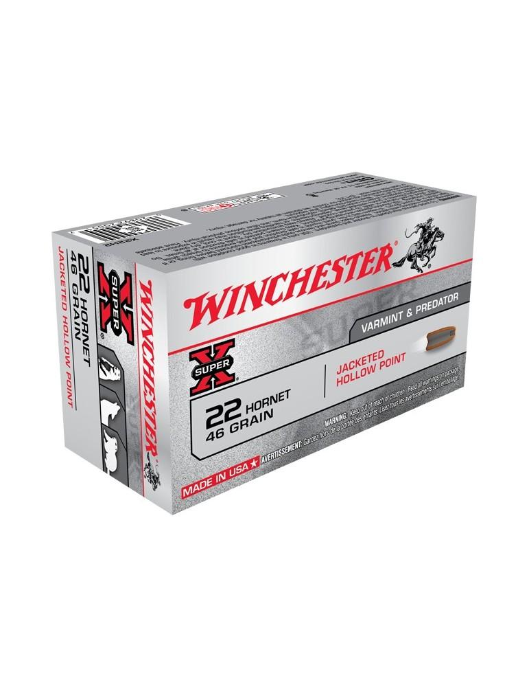 Winchester .22 Hornet Hollow Point 46 gr
