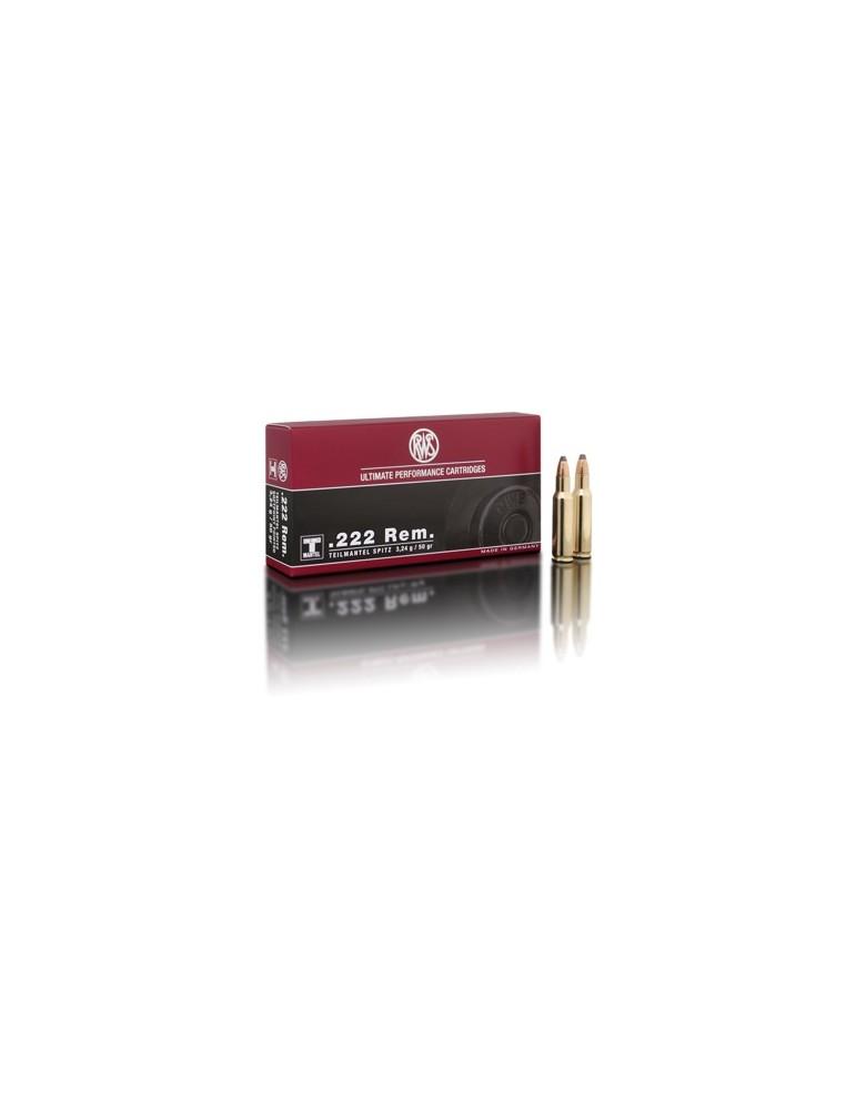 RWS .222 Rem. TMS 50 gr